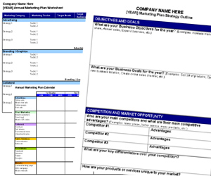 Free Annual Marketing Plan Templates and Resources | Small ...