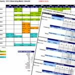 Advertising media plan template