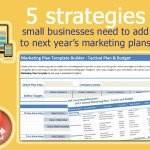 5 Strategies Small Businesses Need to Add in Next Year's Marketing Plans