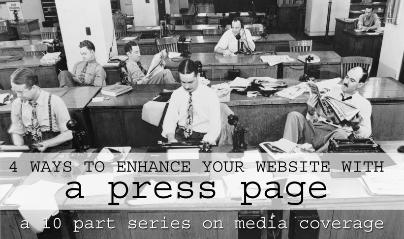 press page website