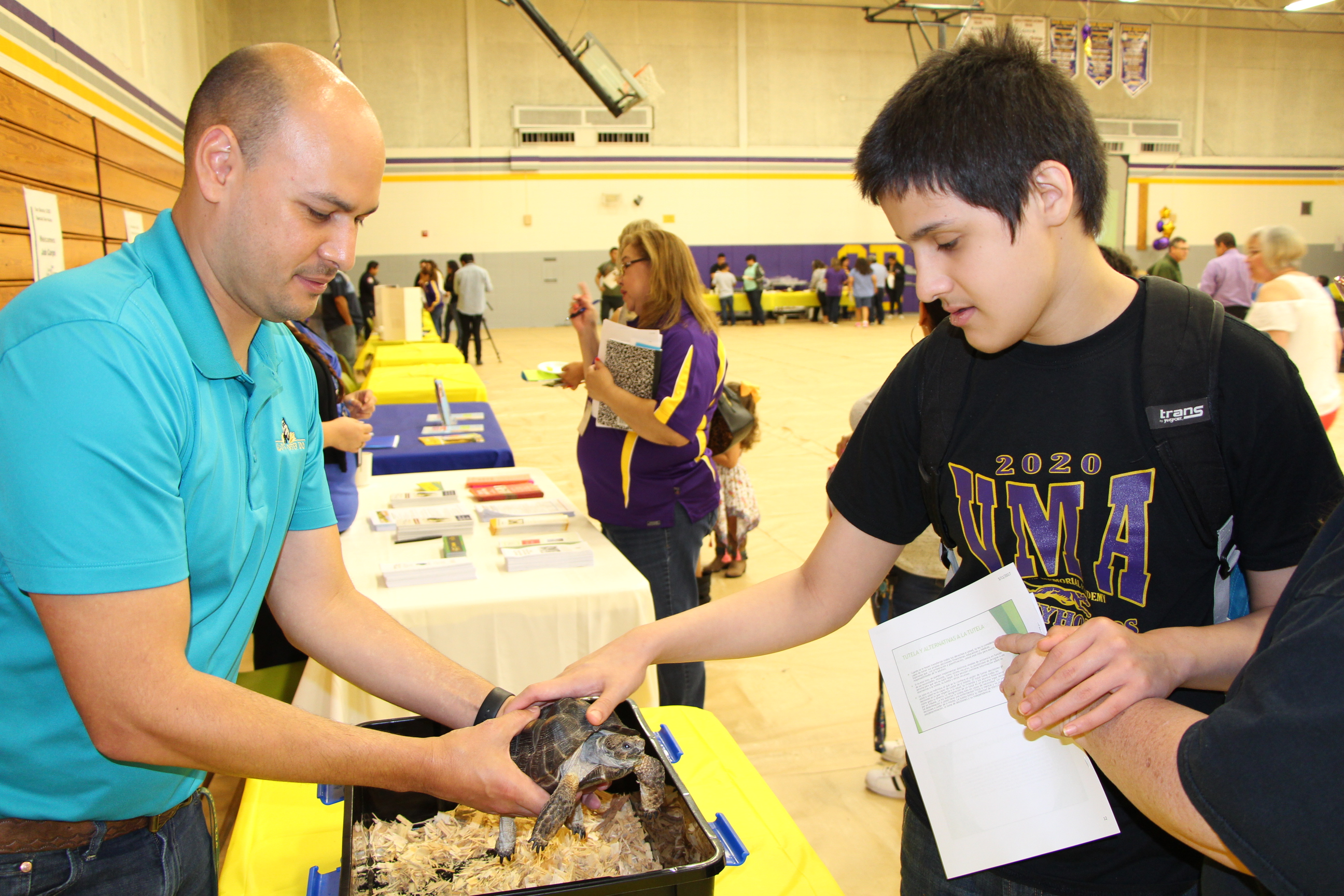 District Helps Students Explore Post Secondary Goals San