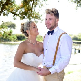 wedding photography christchurch harbour hotel