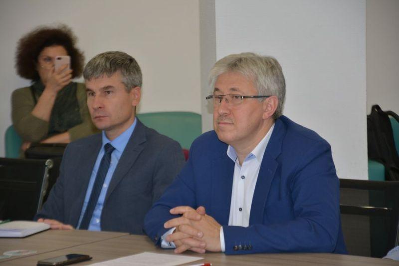 (слева направо) Алексей Васильев, Дмитрий Маркович