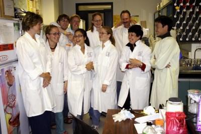 Pierce lab staff