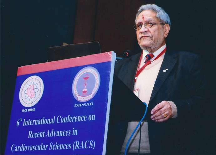 "Dr. Naranjan Dhalla: ""Distance Education"""