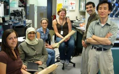 Dr. Moghadasian lab staff
