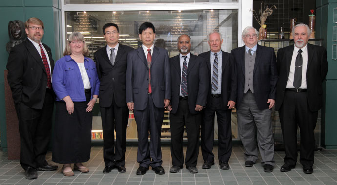 Guests from Beijing visit CCARM