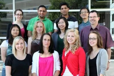 Dr. Aukema lab staff