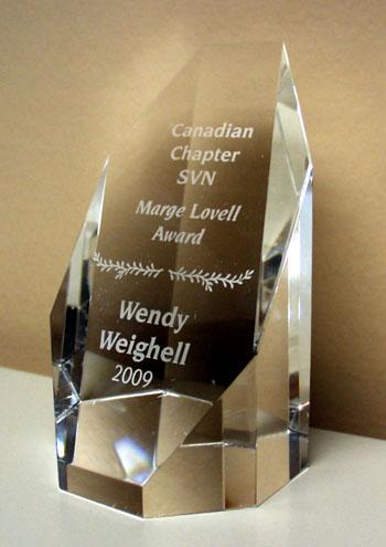 Weighell wins national vascular nursing award