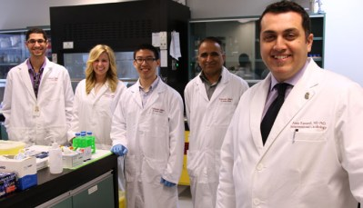 Ravandi lab group photo