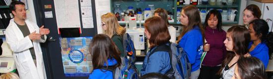 Canada Wide Science Fair students tour Centre