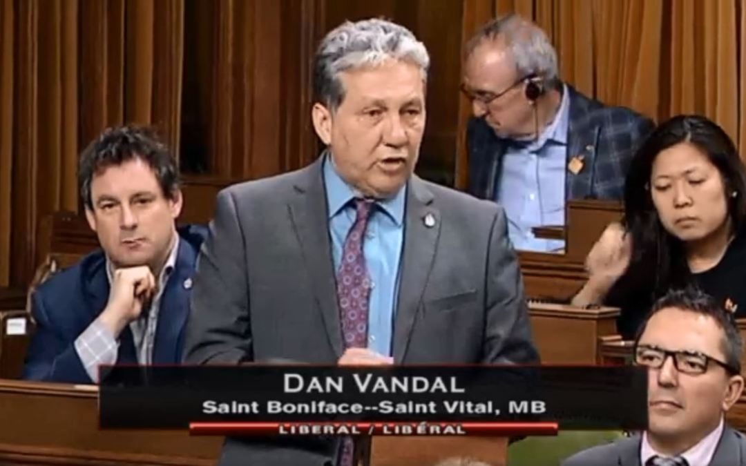 MP Vandal represents Albrechtsen Research Centre in House of Commons