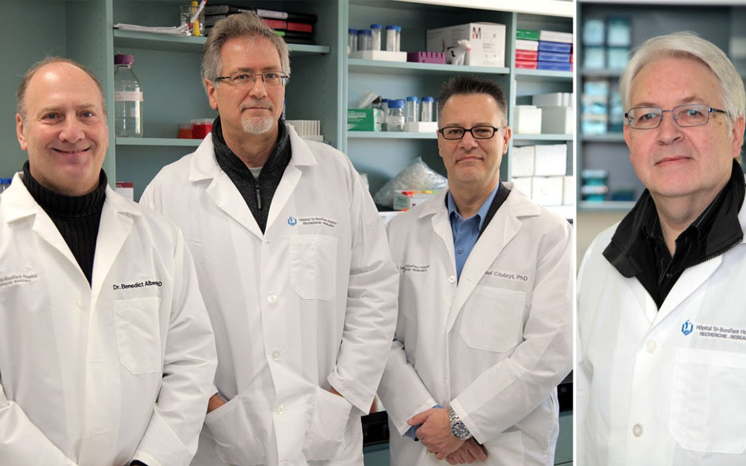 Albensi, Czubryt, Dixon and Fernyhough receive Canadian Institutes of Health Research (CIHR) funding totalling more than $3.5M.