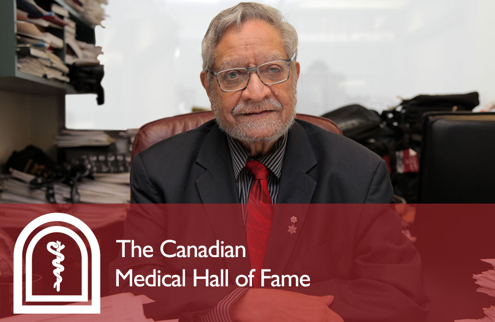 Dr. Dhalla - The Canadian Medical Hall of Fame