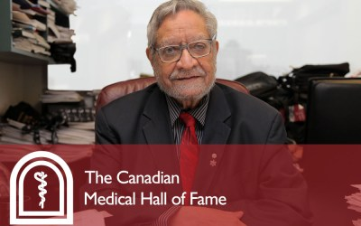 Manitoba Cardiovascular Leader Inducted into Canadian Medical Hall of Fame