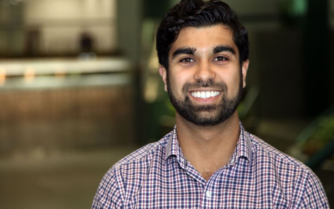 Another Big Win in Texas for a St. B Research Student-Alumni!