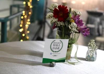 Hall of Fame table