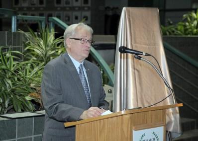 Dr. Foerster at Hall of Fame