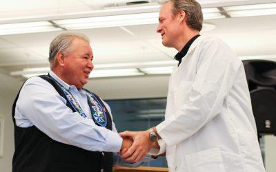 St. Boniface Hospital youth bio-lab receives surprise bonus donation