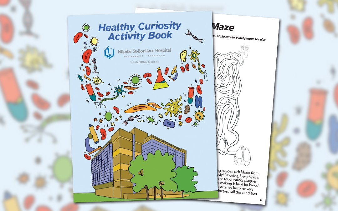 Youth BIOlab creates an activity book for kids
