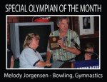 Special Olympian of the Month