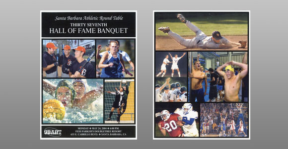 Santa Barbara Athletic Round Table 2004 Hall of Fame Banquet Cover
