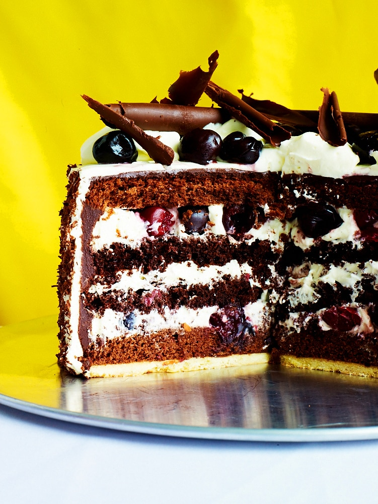 Black Forest Cake Recipe Sbs Food