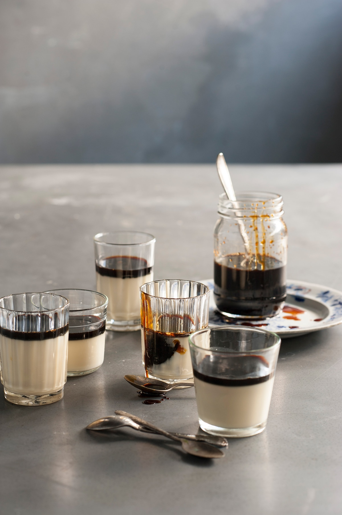 Soy Milk Jellies With Coffee Syrup Jelly Recipes Sbs Food