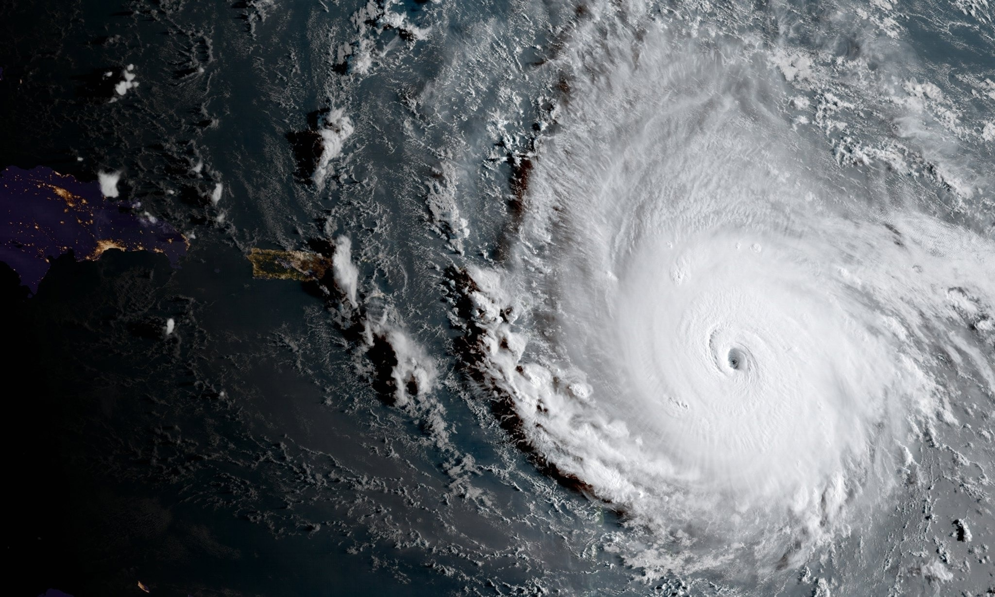 Image result for photos of irma on french caribbean