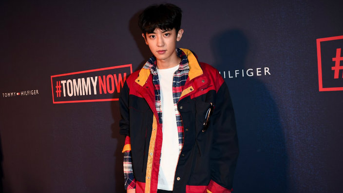 EXOs Chanyeol Rocked The Tommy Hilfiger Fashion Show And