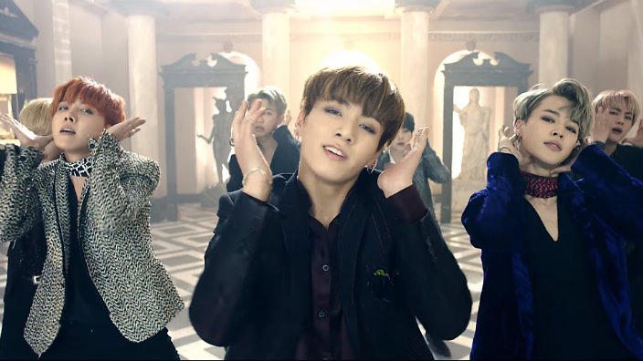 Image result for bts blood sweat and tears