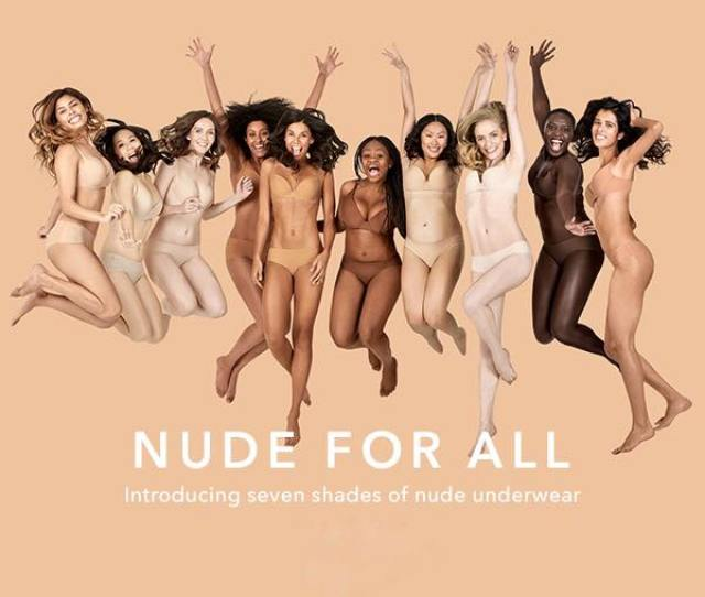 Inclusive Lingerie Collection For Women Of All Colours If Nude Is Meant To Be The Colour Of Naked Skin Why Cant So Many Women Wear It