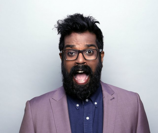 From Teaching Maths To Performing Comedy For Prince Harry Meet Romesh Ranganathan With His Deadpan Droll And Self Deprecating Style The British Sri