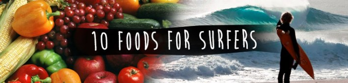 20 foods for surfers