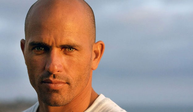 There is no surfer with more titles or fame than Kelly Slater. Photo: Aroyan