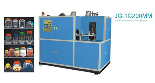 Sopladoras automáticas de preformas con alimentación manual