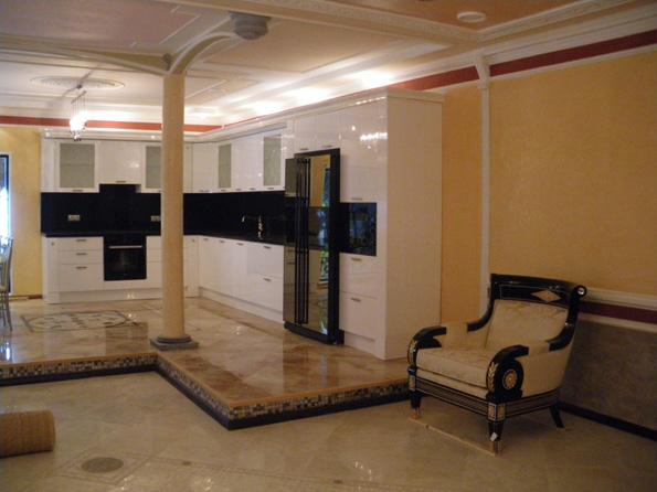 дизайн столовой гостиной в частном доме фото 5