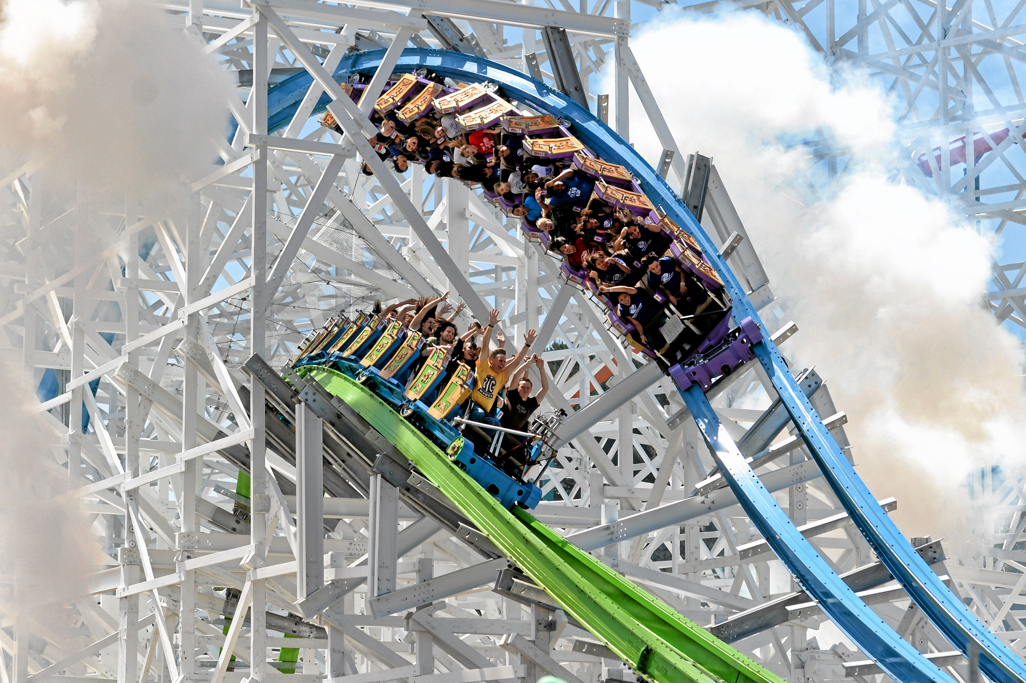 We cannot guarantee you will not be exposed during your visit. Six Flags Magic Mountain Is Going To Be Open Every Day In 2018 San Bernardino Sun