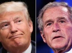 Cựu tổng thống George W. Bush muốn có câu trả lời về sự kết nối giữa ban tranh cử của tổng thống Donald Trump với Nga