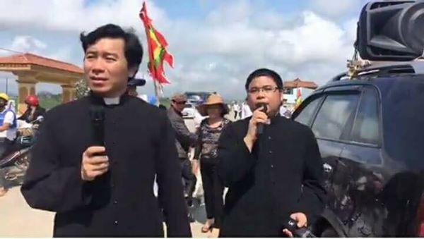 Đài truyền hình Việt Nam và Nghệ An vu khống linh mục giáo phận Vinh kích động dân đi kiện Formosa