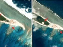 Hoa Kỳ báo động Trung Cộng hoàn tất phần lớn công trình xây dựng căn cứ quân sự tại