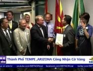 Công Nhận Cờ Vàng VNCH Tại Thành Phố Tempe , Arizona