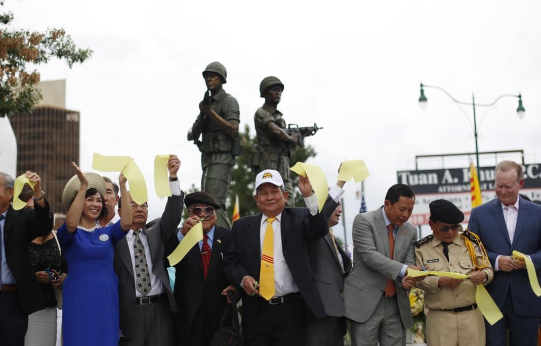 Khánh thành Tượng Đài Chiến Sĩ Việt Mỹ ở Oklahoma City