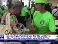 Tâm Tình Của Xướng Ngôn Viên Diệu Quyên Trong Ngày Phát Quà Cứu Trợ Bão Lụt Harvey