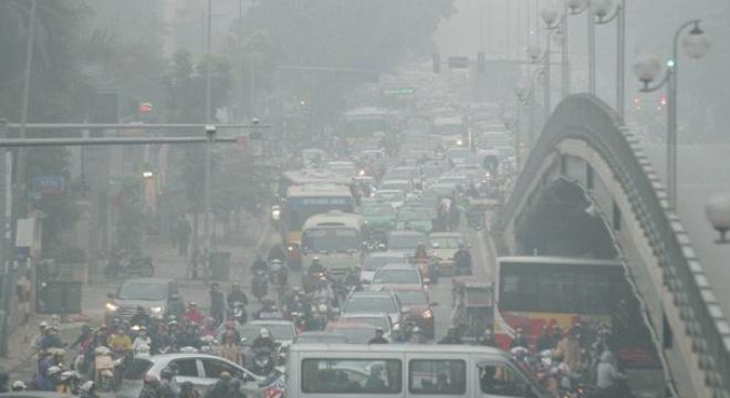 Hà Nội chỉ có không khí sạch 38 ngày trong trọn năm 2017