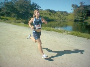 Kendra's Race Sprint Triathlon and 5k @ UCSB