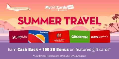 #ALT MyGiftCardsPlus Summer Travel Promotion!