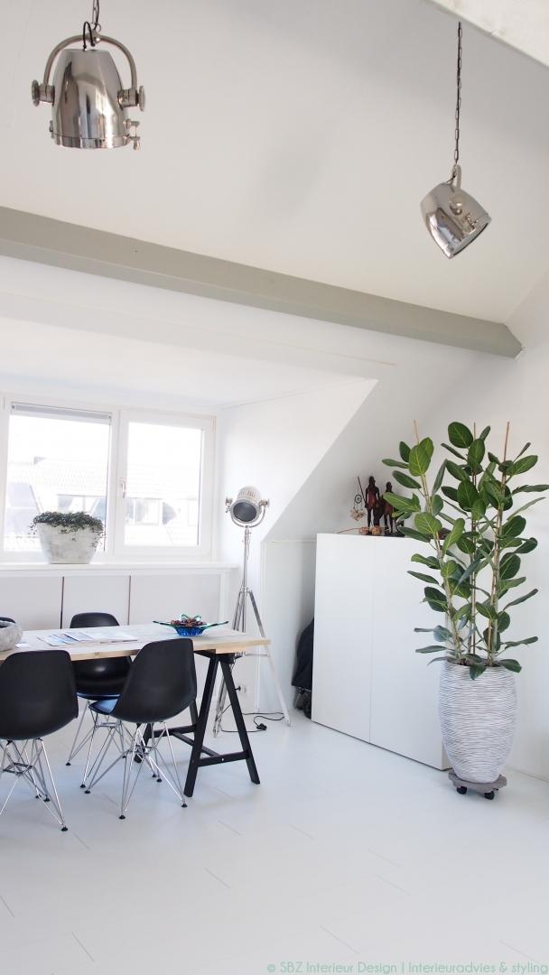 Interieuradvies & project inrichting/ styling zolder (studio ...