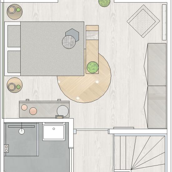 Interieurplan -sfeerplan © SBZ Interieur Design