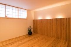 1F主寝室  間接照明を用いた落ち着いた空間